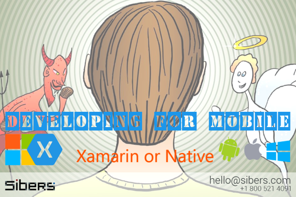 Sibers talking on Xamarin vs. Native mobile development