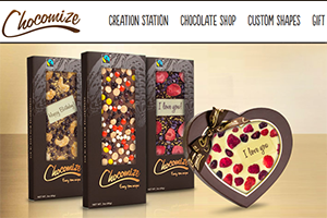 Chocolate-on-Demand Online Customization Tool