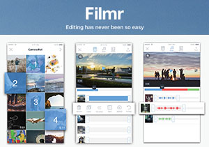 Filmr — the world's most intuitive mobile video editor