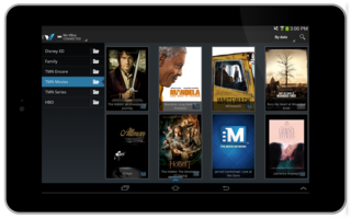 Set-Top Box and TV Content Delivery Applications — Android App for Remote Control