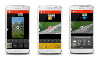 Videoshop: a native mobile video editor — Android application