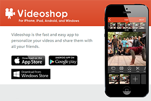Videoshop: a native mobile video editor