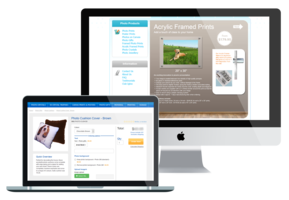 Web-to-print e-commerce solution