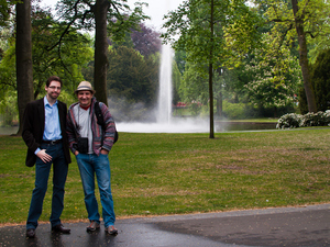 Yuriy, Sibers' founder and our client Loren in Breda, Netherlands